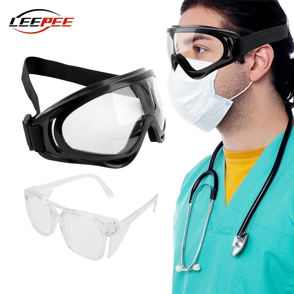 Ветрозащитный мотоциклетные очки лаборатории очки для глаз защитная пленка Защита Анти-туман капли, устойчивый к велосипед аксессуары для ...