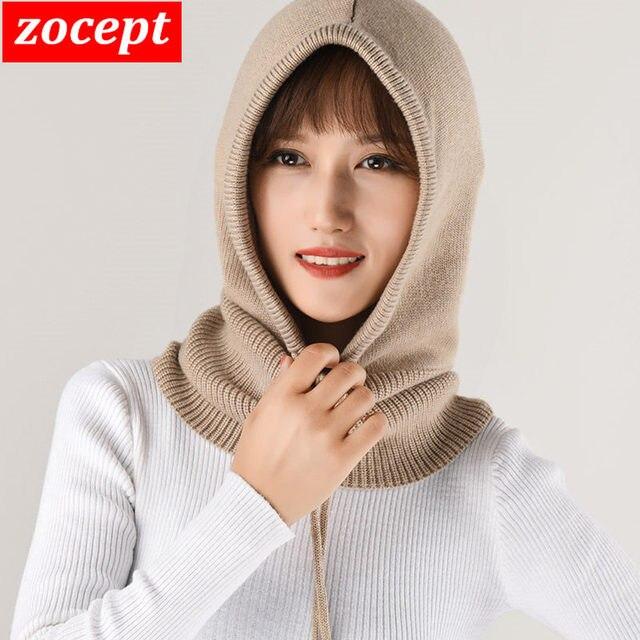 Bonnet en laine tricoté pour femmes