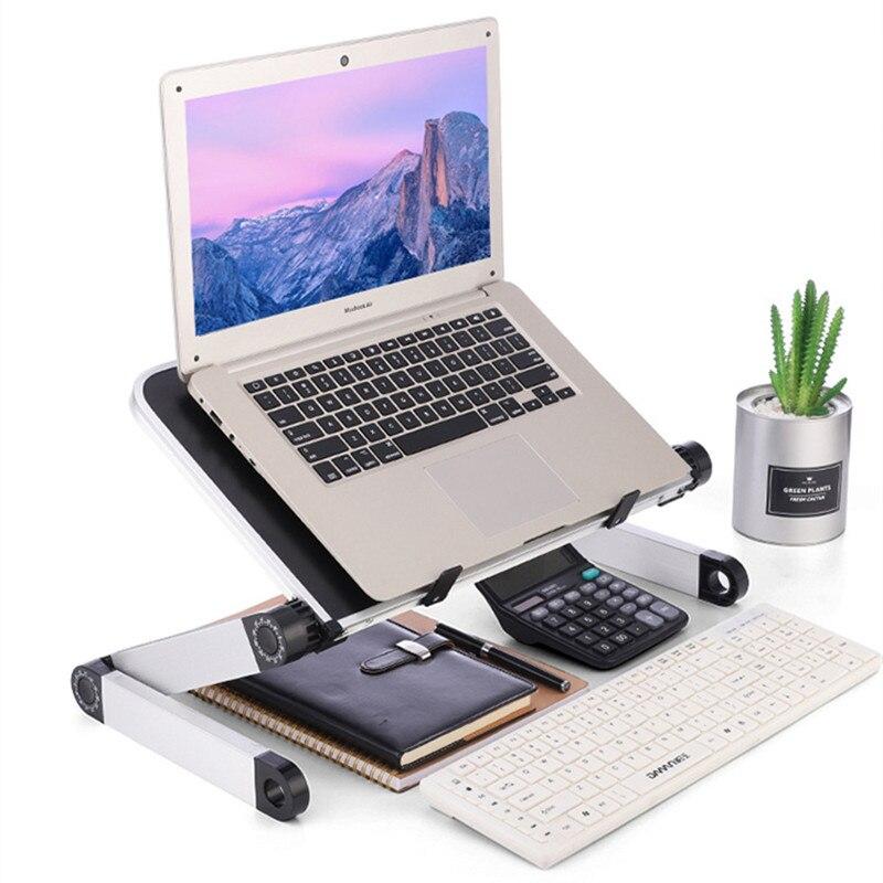 Portable augmenter le support d'ordinateur Portable ordinateur base surélevée tablette réglable support de levage en alliage d'aluminium ABS augmenter le radiateur de soutien