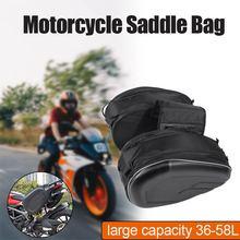 36L-58L Motorrad sattel tasche Wasserdicht Racing Rennen Helm Reisetaschen Koffer Satteltaschen taschen mit regen abdeckung