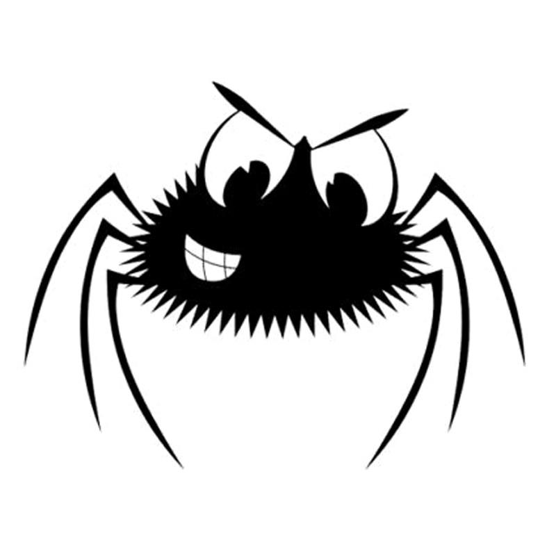 Автомобильный стикер Человека-паука модная декоративная Автомобильная наклейка из ПВХ Водонепроницаемый и с защитой от солнечных лучей, ч...