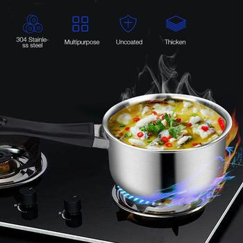 In Stock  Stainless Steel Pan And Lid Set Cookware-Stainless-Steel-Set Cooking Kitchen Stock Pot Kitchen Conductive Cooking HWC