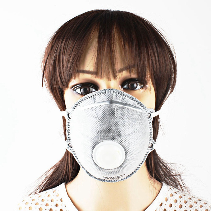 1Pcs Acticarbon Filter Masks Breathing Valve Mouth Mask Dustproof Anti-particulate Pollution Mask Industrial Working Protection