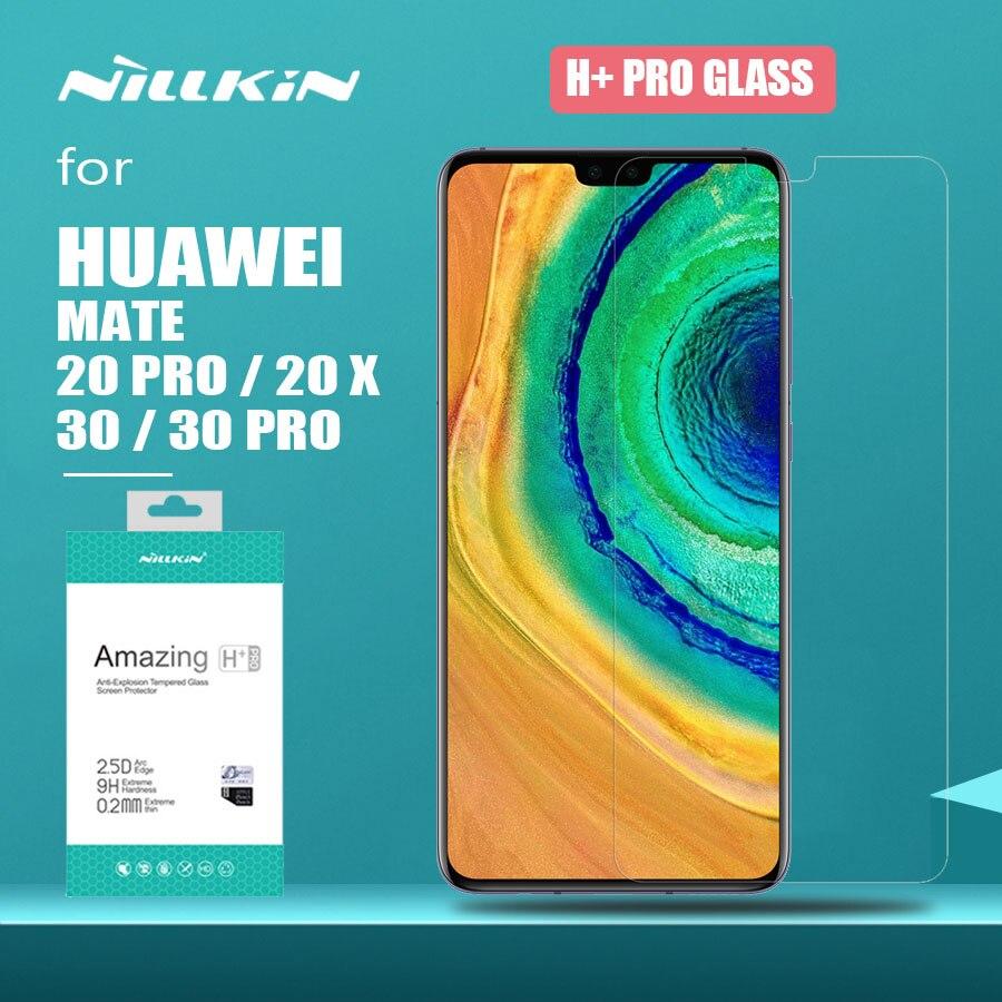 Nillkin für Huawei Mate 30 Pro 20 X Glas H + Pro Gehärtetem Glas Mate 20X Screen Protector für Huawei mate 30 Pro 20 X 2.5D Glas