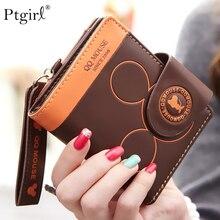 Women small wallet cartoon mickey cute coin purse Ptgirl has