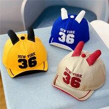Baseball cap Spring, autumn, summer 1Y-2Y  baby boy winter hat girl clothes gorros para bebe kids hats Y333