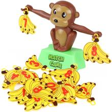 Balance Toy Math Game Balance Parent-child Interactive Teaching Game Monkey Hanging Banana Balance Toy Party Games monkey number balance math toys match balancing scale game board game educational toy for child to learn add and subtract