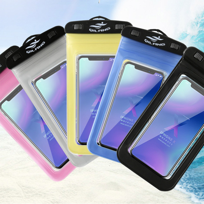 Mobile Phone Waterproof Bag Cover Touch Screen HD Underwater Camera Universal 6 Inch Universal Diving Set