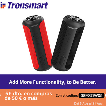 [Free shipping]Tronsmart T6 Plus Upgraded Edition Bluetooth 5.0 Portable Speaker with Up to 40W Power, IPX6, NFC 1