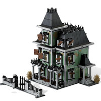 2020 new Lepining Monsters Fighter The Haunted House Firehouse Headquarters 16007 Building Blocks Movie Toys Kids Gifts