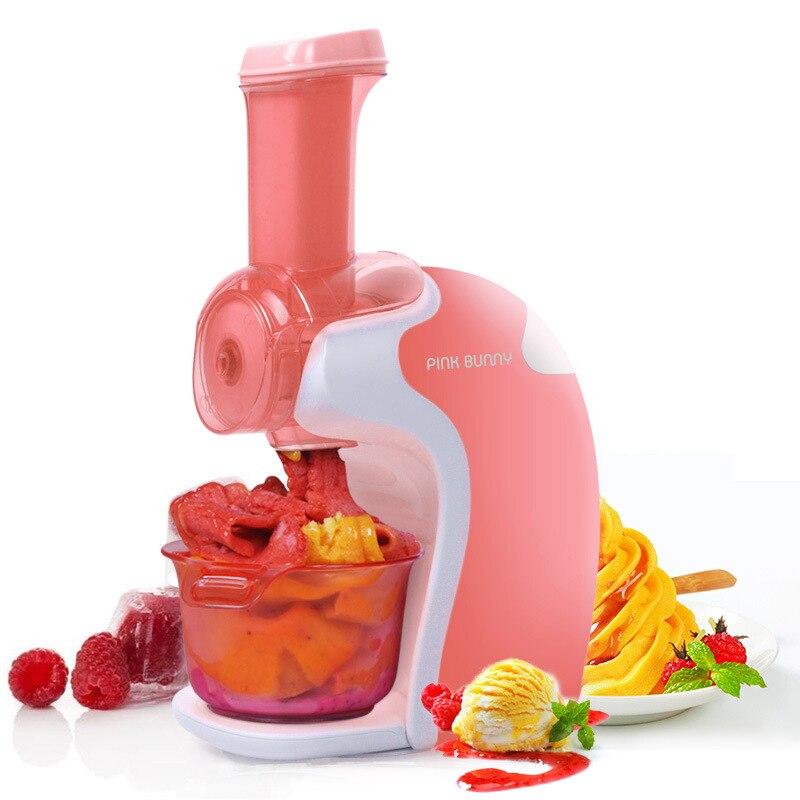 Máquina de sorvete de frutas portátil casa máquina de sorvete