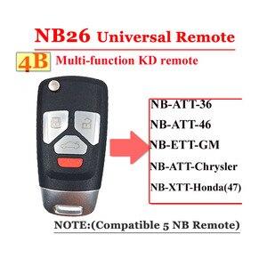 Image 4 - Hot (5 قطعة/الوحدة) NB26 4 زر kd900 البعيد 3 زر NB سلسلة مفتاح العالمي متعددة الوظائف ل KD900 URG200 البعيد ماستر