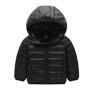 Image 5 - Bahar sonbahar kış ceket kızlar için giysi pamuk yastıklı kapşonlu çocuklar ceket çocuk giyim kız Parkas Enfant ceket ve mont