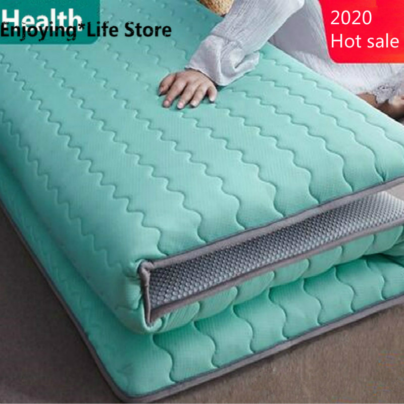 Thickness 6cm/10cm Latex Mattress Folding Mattress Memory Cotton For Queen/King /Twin/Full Size Bed Breathe Foam Tatami Mattress