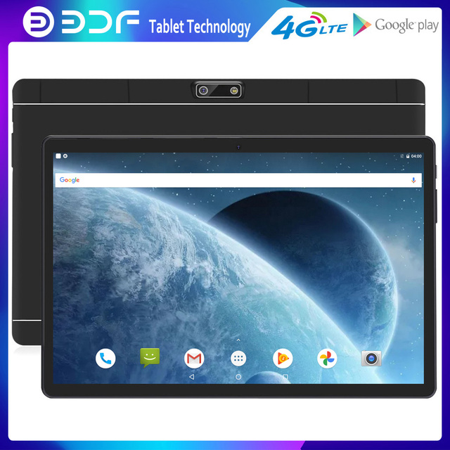BDF 4G Network Phone Call Tablet Android 9.0 Tablets Octa Core 10.1 Inch IPS 2GB RAM 32GB ROM SC9863A GPS WiFi Google Play 10