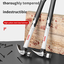 400mm Claw Hammer Professional Woodworking Joinery Home Carpentry Hand Hammer Nail Hammer Non-slip Multi-function Handle Hammer