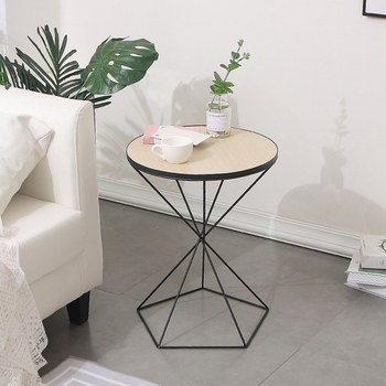 Ins Nordic Minimalist Small Coffee Table Small Apartment Creative Living Room Furniture Sofa Leisure Side Table Reception Room S