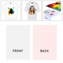 Heat-Press Transfer-Paper for T-Shirts Inkjet-Light Printing Fabrics-Supplies Paper-Print/off-R7k2