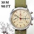 Часы Для мужчин s Чайка двигаться Для мужчин t 1963 наручные часы сапфировые механический хронограф Водонепроницаемый st1901 38 мм 40 мм часы для Дл...