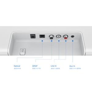 Image 4 - Original Xiaomi Bluetooth TV Sound Bar Wireless Speaker Soundbar Support Optical SPDIF AUX in for Home Theatre