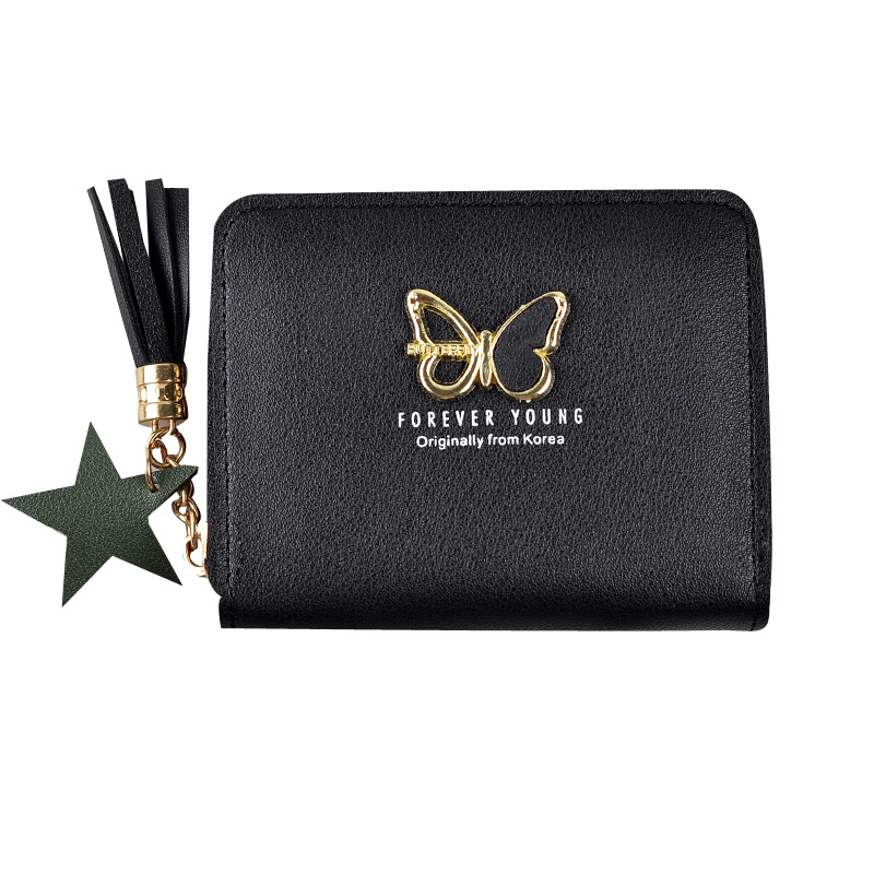 Women/'s Butterfly Design Purse Ladies Stylish Card Holder Wallets