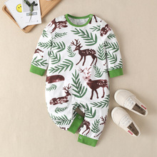 New Newborn Baby Clothes Cotton Long Sleeve Spring Autumn Baby