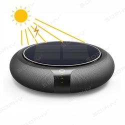 Purificador de aire de coche con filtro HEPA sistema de energía Solar fresco aire anión limpiador de aire mejor para la oficina del hogar del coche