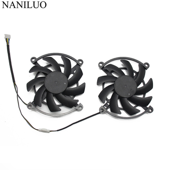 2PCS/lot for Colorful iGame GTX 1060-3GD5 GAMING GTX1060 1070 Video Graphics card cooling fan 56pcs lot direct heat stencils for intel graphics card video card chips
