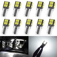 10x T10 de luz W5W LED Canbus coche aparcamiento para Citroen C4 Picasso Berlingo Xsara C5 C3 Saxo C2 C1 C4L DS3 Xantia 2 DS4