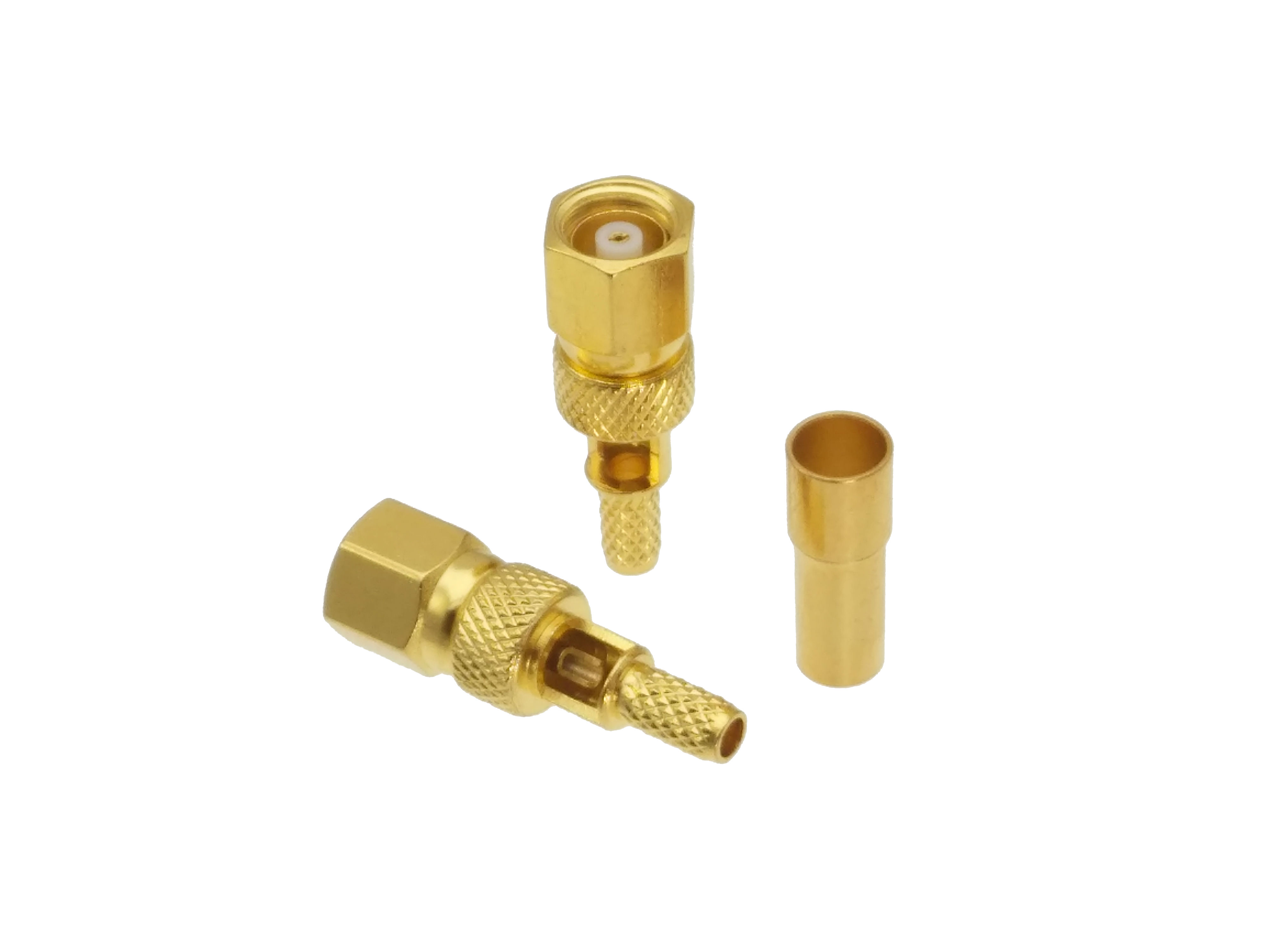 Connector SMC Female Jack Crimp RG174 RG316 LMR100 Cable RF Coaxial Straight