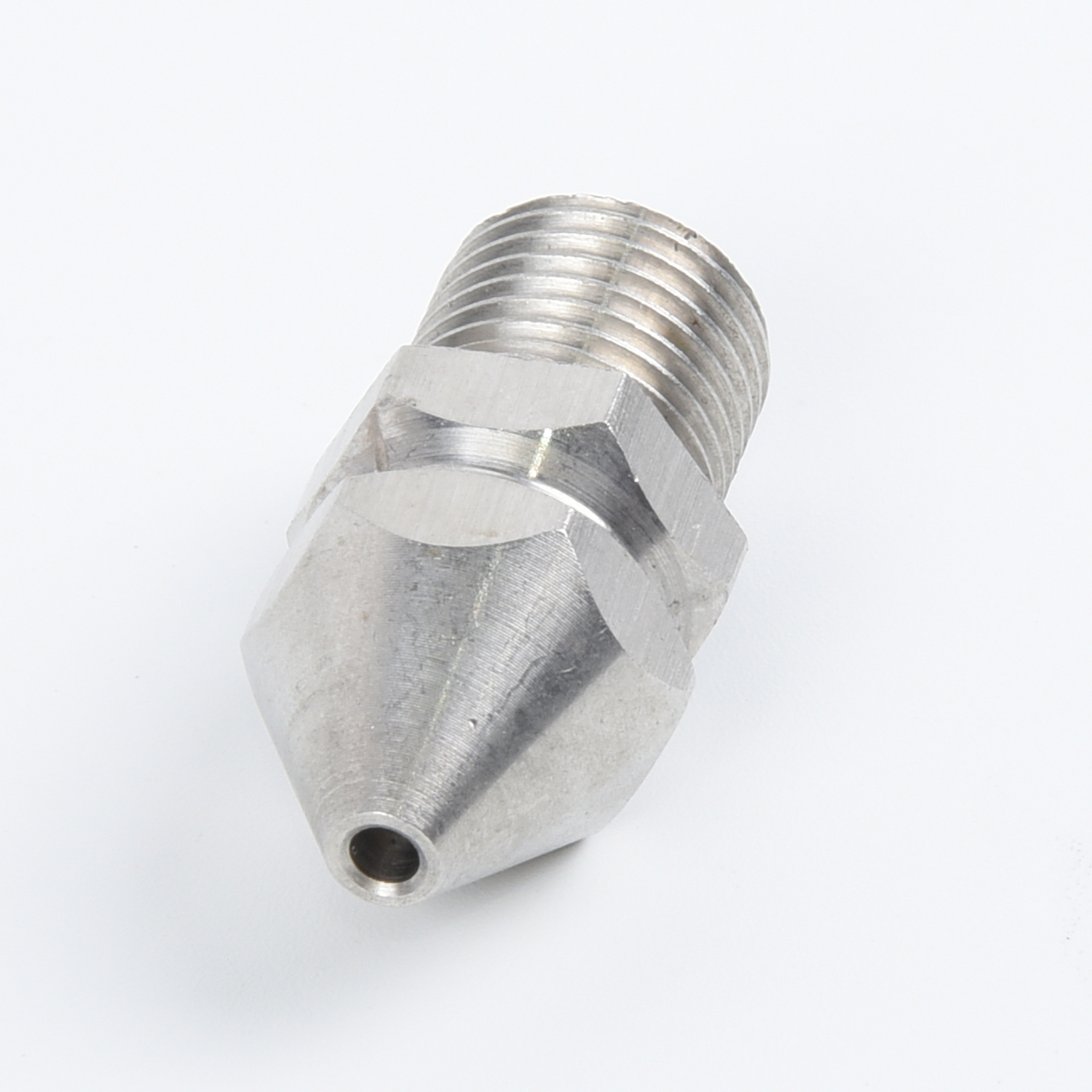 """1//4/"""" Pressure Washer Drain Sewer Cleaning Pipe Jetter Rotary Nozzle 4Jet"""