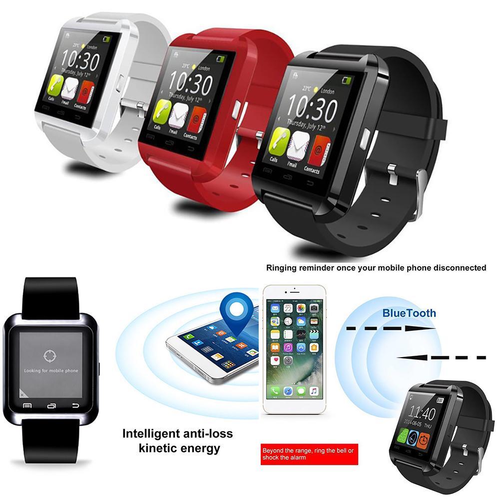 Hot Sale  U8 Fitness Tracker Heart Rate Pedometer Monitor Bluetooth Phone Smart Watch