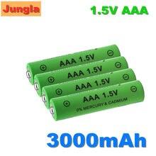 Bateria recarregável alcalina aaa da bateria 100% mah 3000 v do aaa de 1.5 aaa para a luz do brinquedo do controle remoto batery