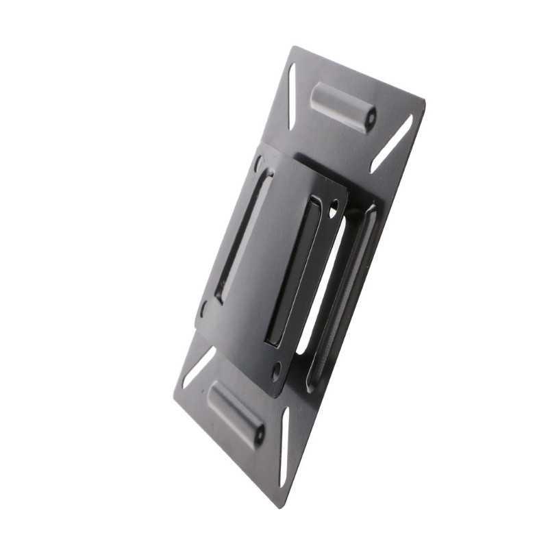 12-24 بوصة شاشة التلفاز المسطحة شاشة VESA 75/100 LCD LED رف لتثبيت التليفزيون على الحائط شقة شاشة تلفزيون مسطحة حامل دعامة حامل