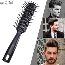 Pro Hairdressing Hair Salon Barber Anti static Heat Comb Hair Wig Styling Tool Comb Brush Healthy Massage Reduce Hair Loss Tools