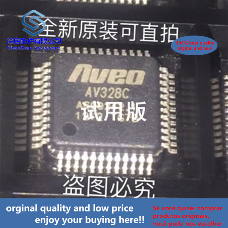 2pcs 100% Orginal And New AV328C AVEO QFP48 Best Qualtiy