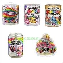 Пупсик Slime сюрприз корма упаковка падение 2 сделать волшебный единорог корма многоцветный LOLS куклы