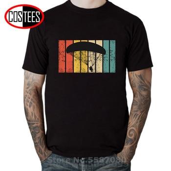 Camiseta estilo Retro parapente Para hombre, Camiseta estilo parapente Vintage Para hombre, camiseta de regalo, camiseta, ropa de paracaidismo, camisetas de parapente