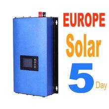 1000W MPPT Solar Grid Tie Inverter with Limiter Free Europe DC 22-65V 45-90V AC 220v 230v 240v