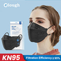 FFP2Mask одобренный KN95 уход за кожей лица маска Mascarilla 4 Слоя Маски Рот многоразовые взрослых защитный ffp2 маски для лица фильтр Маска Masken