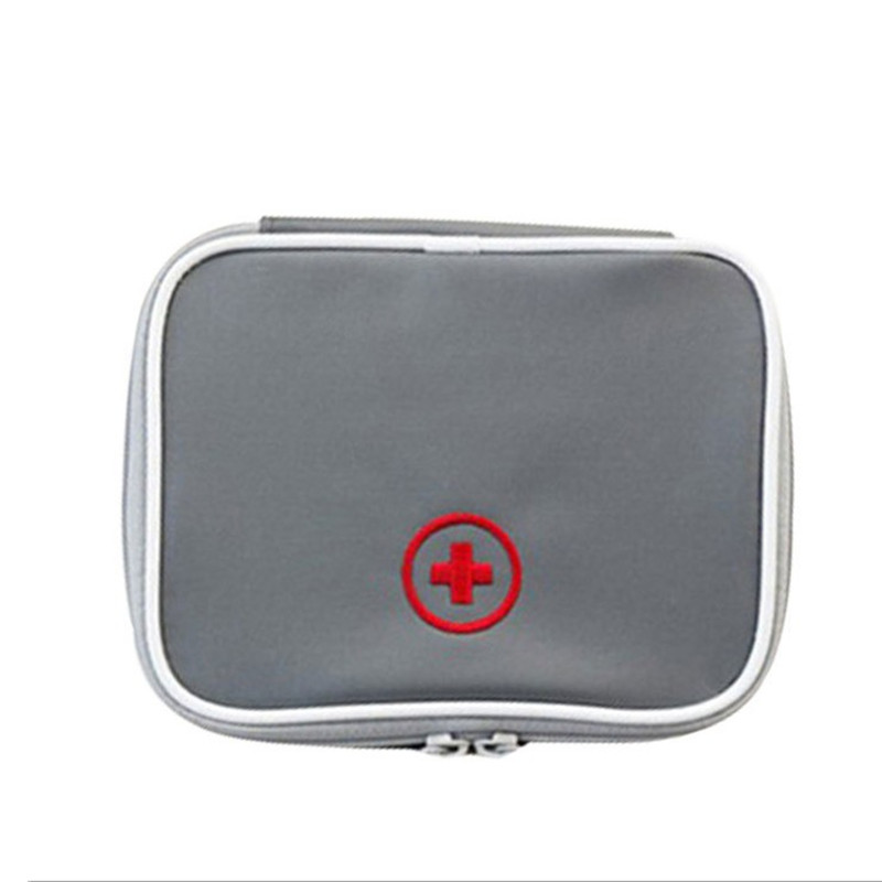 Mini Outdoor First Aid Kit Bag Travel Portable Medicine Package Emergency Kit Bags Medicine Storage Bag Small Organizer Camping