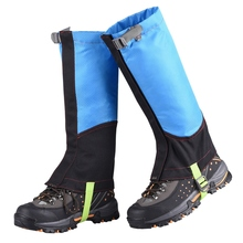 купить Practical Waterproof Outdoor Camping Hiking Legging Gaiter Breathable Durable Mountaineering Snow Boots Shoes Cover Leg Gaiter дешево