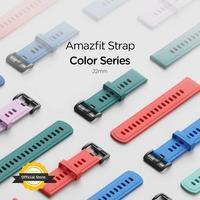 Amazfit-pulseira de relógio inteligente, 22mm, para amazfit gtr, stratos 2s, gts 2, gtr 2