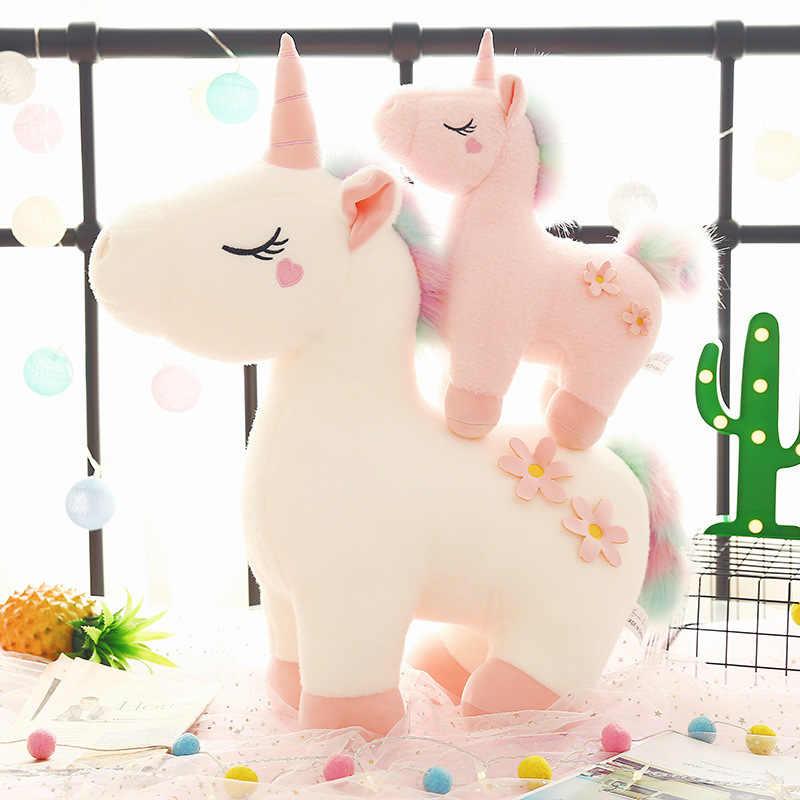 Bán Chạy Từ Mơ Mộng Kỳ Lân Búp Bê Dễ Thương Origional Pony Sang Trọng Đồ Chơi Hồng Girl's Trái Tim Búp Bê