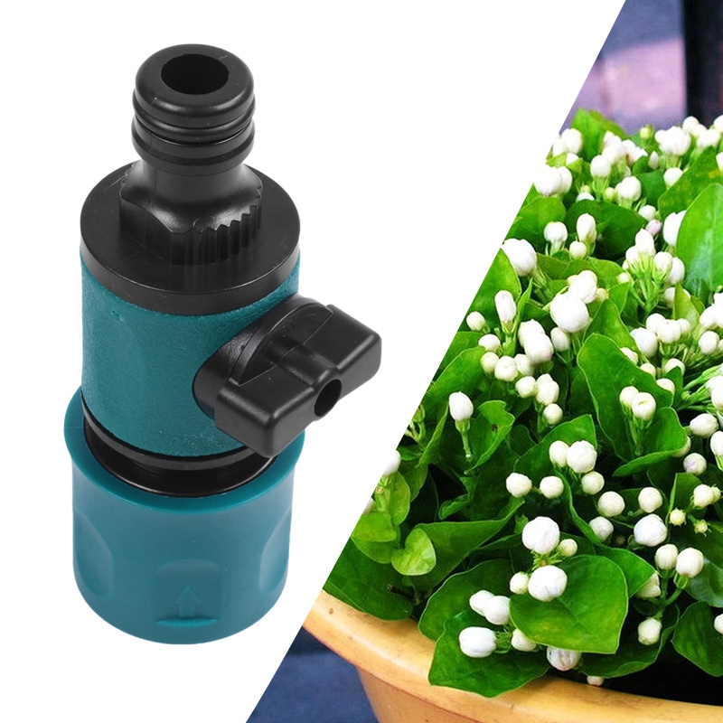 Plastic Valve Agriculture Garden Watering Prolong Hose with Quick Connection