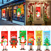 Christmas Decorations for Home Porch Sign Decorative Door Hanging Decor Merry Christmas Xmas Ornaments Navidad 2020 Natal 2021