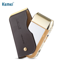 KEMEI Men Electric Shaver One Blade Waterproof Reciprocating Cordless Electric Razor Rechargeable Shaving Machine Barber Trimmer