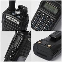 uhf dual 2pcs Baofeng UV-82 Dual Band VHF / UHF 136-174 / 400-520 MHz 8W כף יד FM משדר Waterproof סורק חובב שני הדרך רדיו (4)