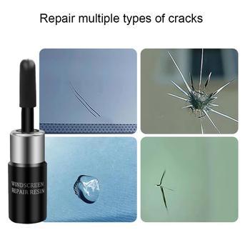 Novo kit de reparo vidro rachado pára brisa diy carro janela telefone tela reparação utensílio automóveis motos ferramentas manutenção|Reparação de janela|   -