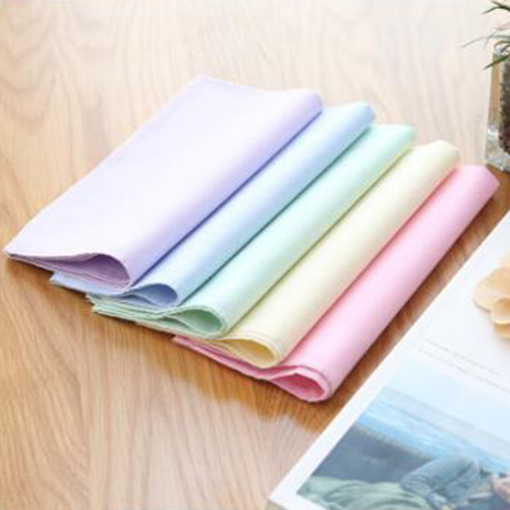 5x 100% Cotton Handkerchief  40 X 40 Cm Blank DIY Hanky Kerchief  Square For Boy Girl Daily Handkerchief